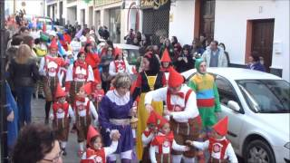 Pasacalles de E E I Gloria Fuertes, Olvera 2013