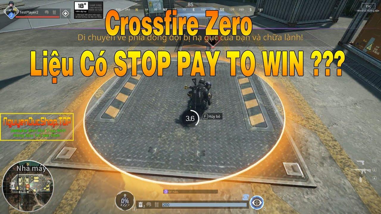 CrossFire Zero Game FPS Mới Ra Mắt Với Đồ Họa Siêu Siêu Đẹp – Truy Kích Showbiz