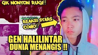 Download lagu REACTION GEN HALILINTAR - DUNIA MENANGIS | Official Lyric Video#Reaction