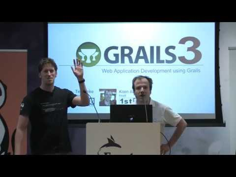 T-DOSE 2015 , Web Application Development using Grails, Koen Aben