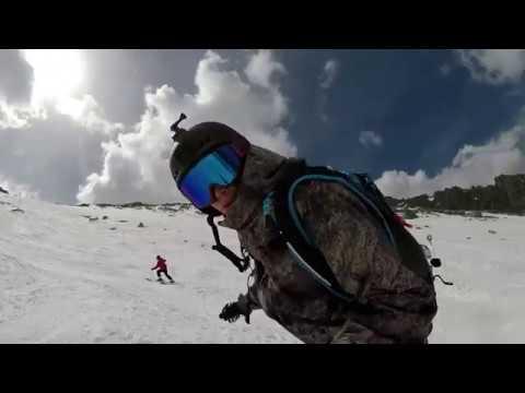 Point de Vue, Top of Grands Montets (3300m) to Lognan @ Chamonix