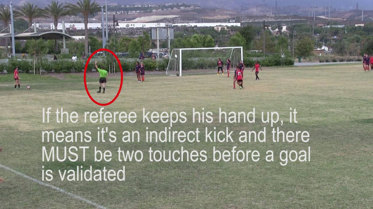 LEARNING THE RULES OF THE GAME - Indirect Kick - Law 13