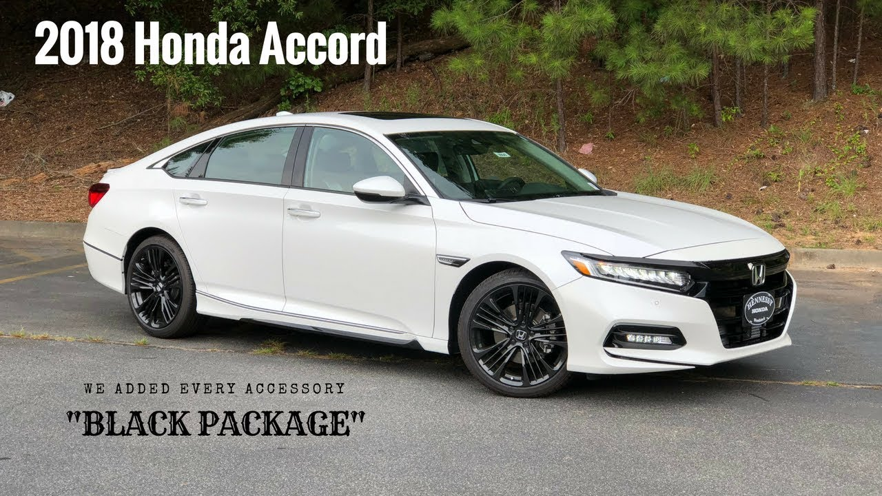 2018 Honda Accord Touring Sedan | We added every accessory ...