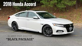2018 Honda Accord Touring Sedan | We added every accessory.