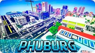 Minecraft Modern Phuburg City Map Cinematic Download Youtube