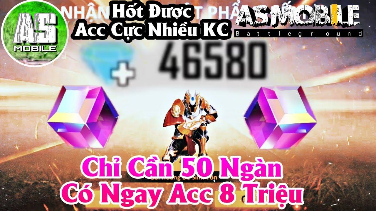 [Garena Free Fire] Có 50k Được ACC 50k Kim Cương | AS Mobile