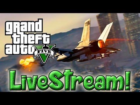 GTA 5 Singleplayer Gameplay - GeeksTheGreeks Live streaming (No commentary)
