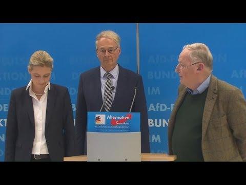VERFASSUNGSSCHUTZ SCHAUT AUF AFD: Weidel und Gauland geben sich empört