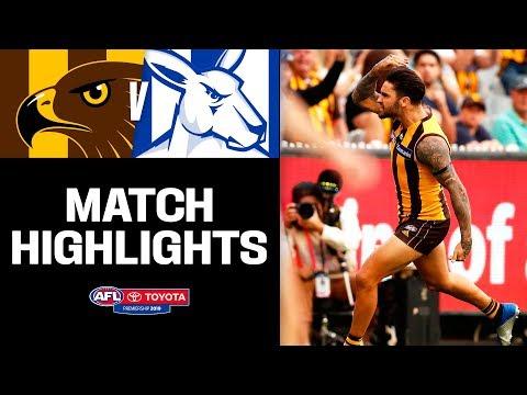 Wingard's Hawk debut | Hawthorn v North Melbourne Highlights | Round 3, 2019 | AFL