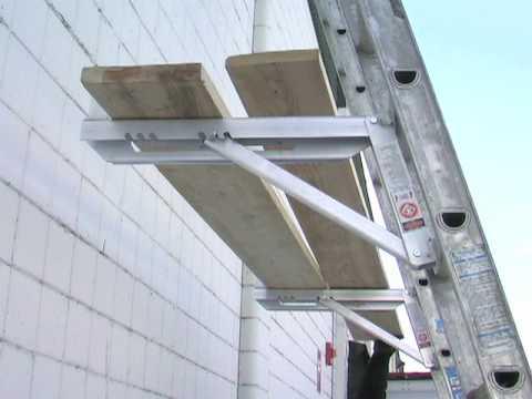 Fulton Adjustable Ladder Brackets Youtube