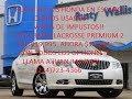 2013 Buick LA Crosse Premium 2 @ Rusty Wallis Honda en Espanol (214)723-4366