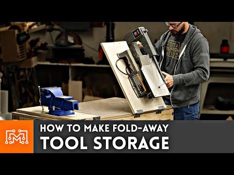 How to Make Fold Away Tool Storage