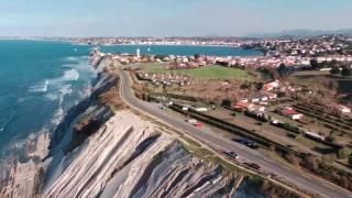 Socoa - Pays basque - Drone Bebop2
