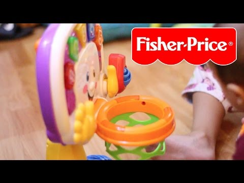 Baby's First Basketball   Fisher-Price Laugh And Learn Learning Basketball Activity Center