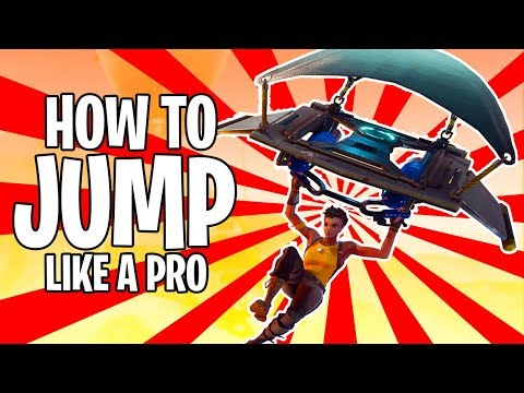 Are You Jumping WRONG In Fortnite? | 5 Secret Tips To Drop Faster In Fortnite Battle Royale