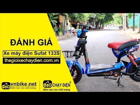 Đánh giá xe máy điện Sufat 133S