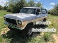 Ep8- 1979 Bronco- Interior Panels and cleanup