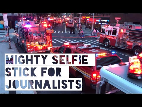 Mighty Selfie Stick For News Reporters / Journalists