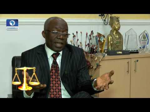 Law Weekly: Femi Falana Shares His Views On Senate, Customs CG Faceoff Pt 1