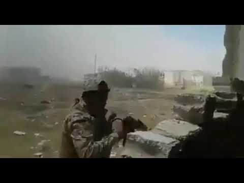 Arab National Guard is fighting hard battles with  Zionist gangs in South of Damascus
