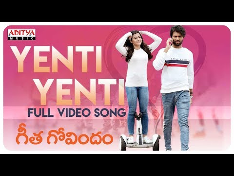 Yenti Yenti Full Video Song || Geetha...