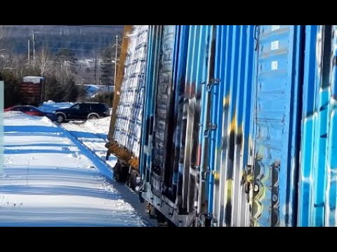 Thumbnail: Freight Train Rocking Off Rails | Jason Asselin