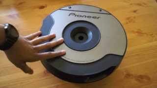 Pioneer TS-WX610A Spare Tyre Active Subwoofer Review