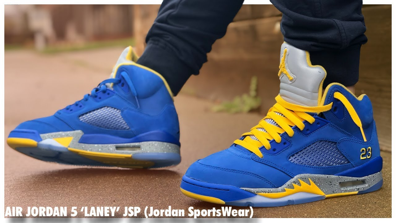 Air Jordan 5 Retro 'Laney' | Detailed Look and Review ...
