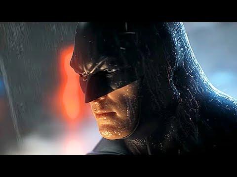 Joker Meets Batman For The First Time Scene - Batman Arkham Origins