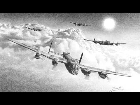 Lancaster Bombers (Speed Drawing)