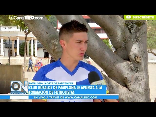 Club Búfalos de Pamplona le apuesta a la formación de futbolistas