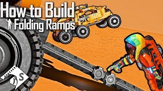 How to Build a Folding Ramp - Space Engineers Tutorial