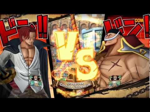 Shank Đối Đầu Râu Trắng Cuộc Chiến Của Hai Tứ Hoàng - One Piece Song Đấu
