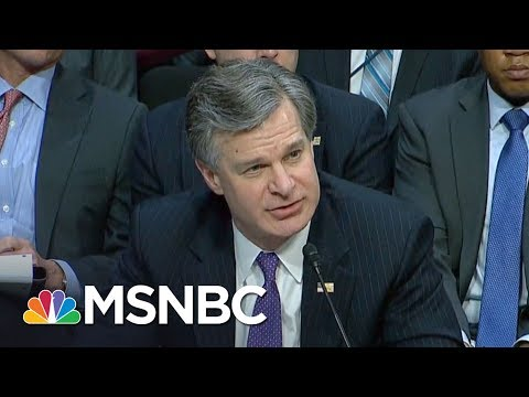 Lawrence On FBI Director Christopher Wray v. Donald Trump World | The Last Word | MSNBC