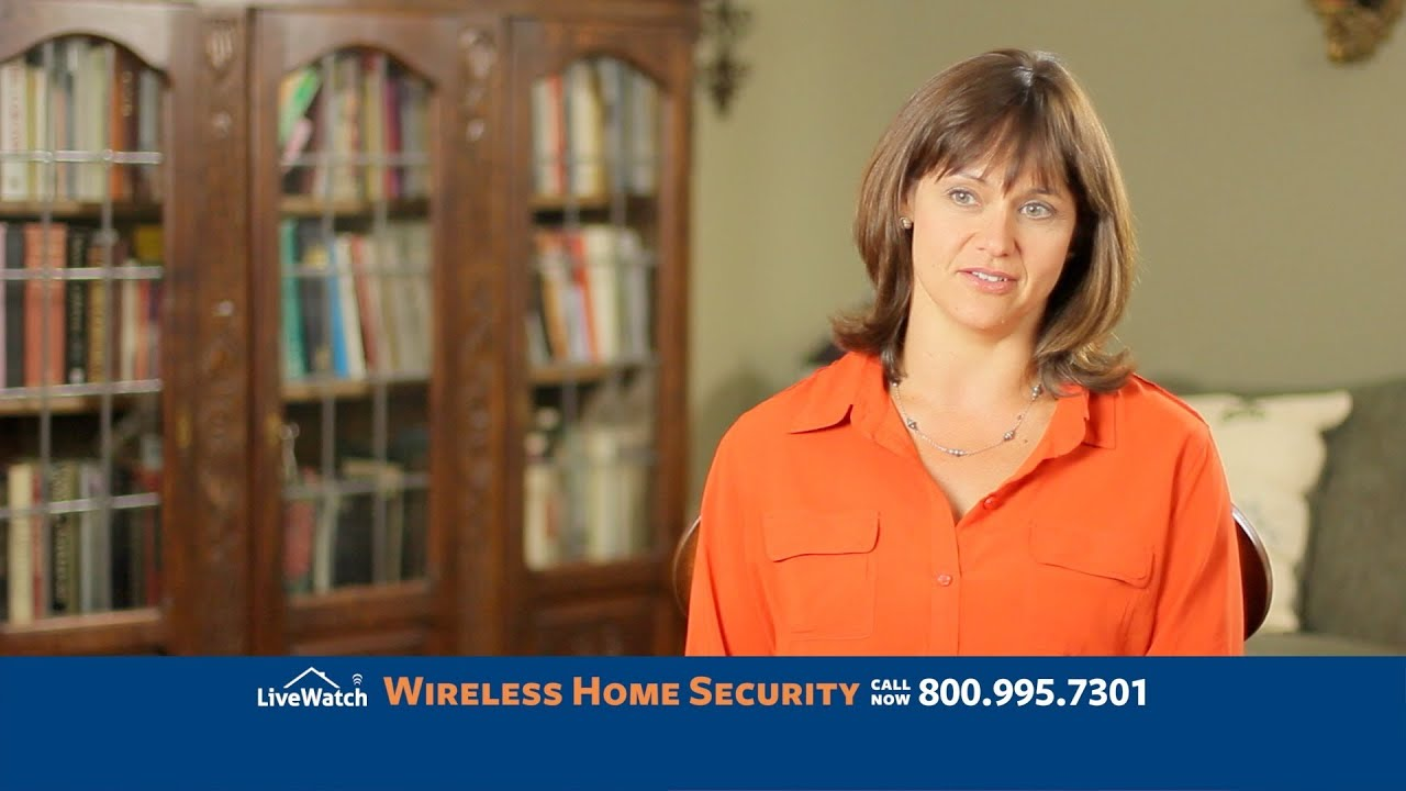 livewatch security airs national tv commercial wireless home security with plug u0026 protect youtube