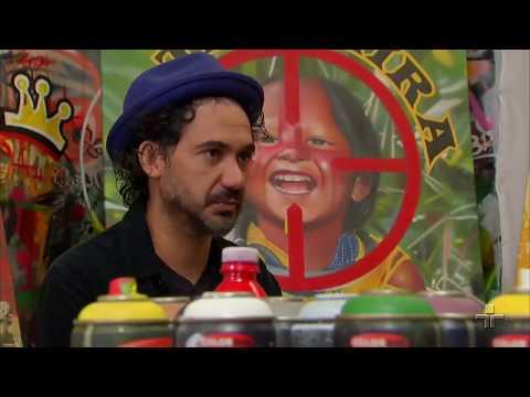 Eduardo Kobra: grafiteiro que defende a vida e a paz mundial