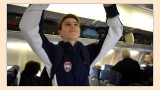 getlinkyoutube.com-BRENNAN GOES TO CALIFORNIA FOR NATIONAL CHAMPIONSHIP   Flippin' Katie