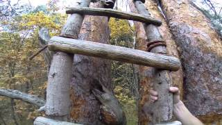 видео Детский деревянный домик своими руками – как сделать домик на дереве – инструкция