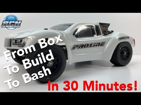 Box to Build to Bash - Pro-Line ProFusion SC 4x4 - RC All in one Video