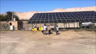 Wenn die Wüste grün wird - Photovoltaikanlage in der Oase Dakhla/Ägypten