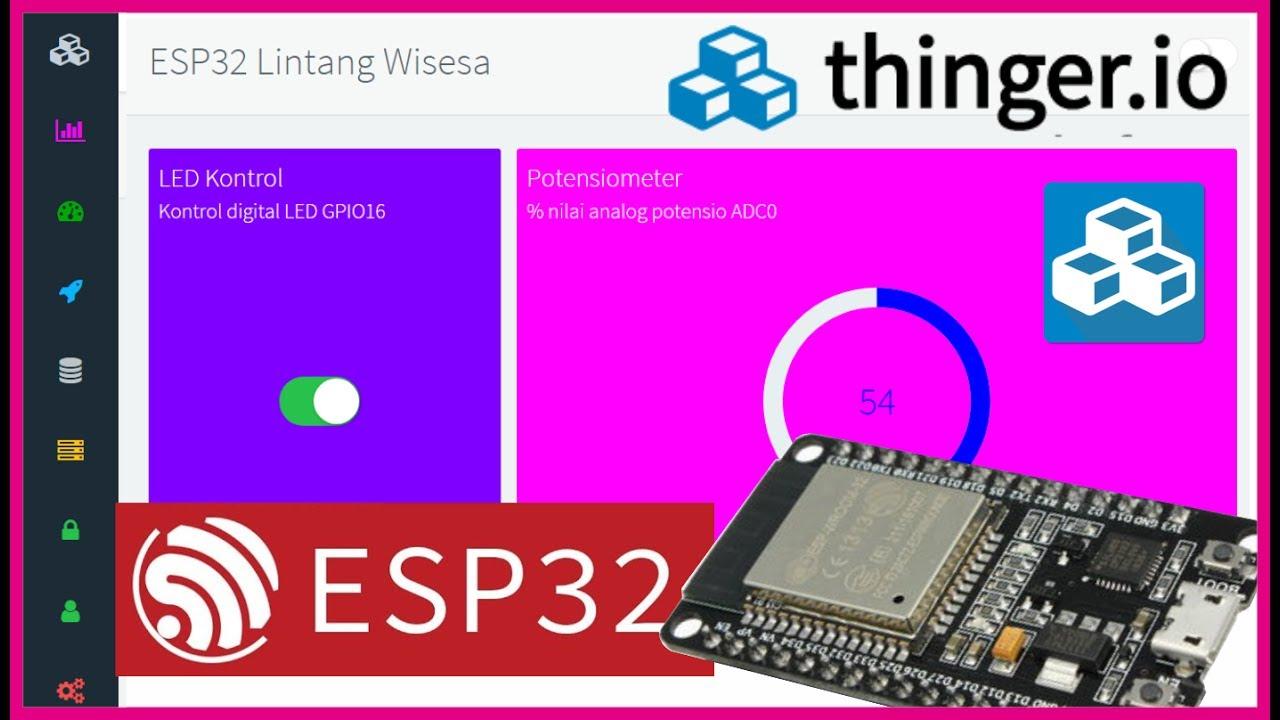 ESP32 & Thinger io