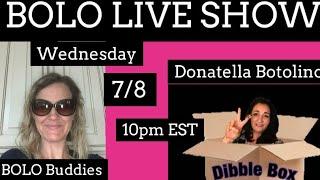 BOLO Live Show Featuring YouTuber @Donatella Botolino Episode 49