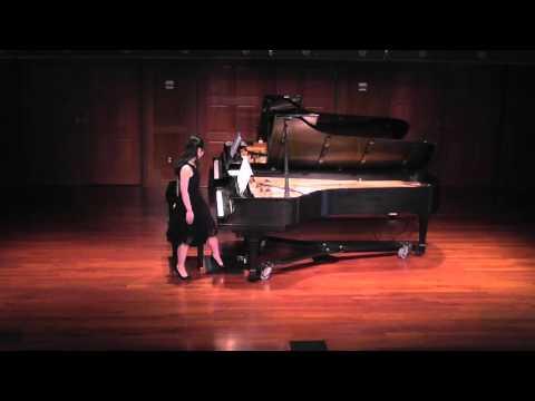 Senior Recital John Michale Murphy and Haven Yang 4 26 16 Part 1