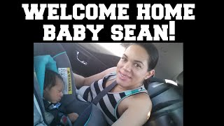 Bringing Baby Home | Welcome Home Baby Sean! 6/26/2015