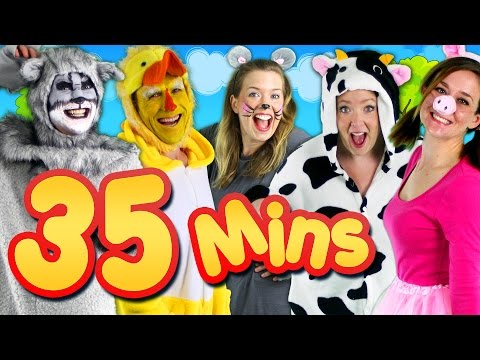 Thumbnail: Old MacDonald Had a Farm & More! 35mins Kids Songs Collection Compilation | Bounce Patrol