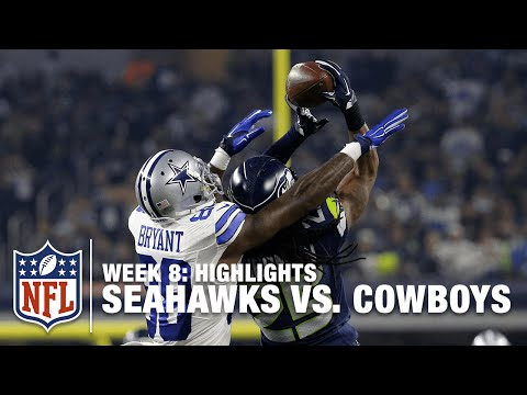 Seahawks vs. Cowboys | Week 8 Highlights | NFL