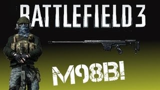 Aggressive Sniping - Post Patch Sniping! [BF3 M98B PC Gameplay]