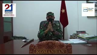 Ucapan Selamat Ulang Tahun Haluan Riau ke-21 dari Komandan Korem 031