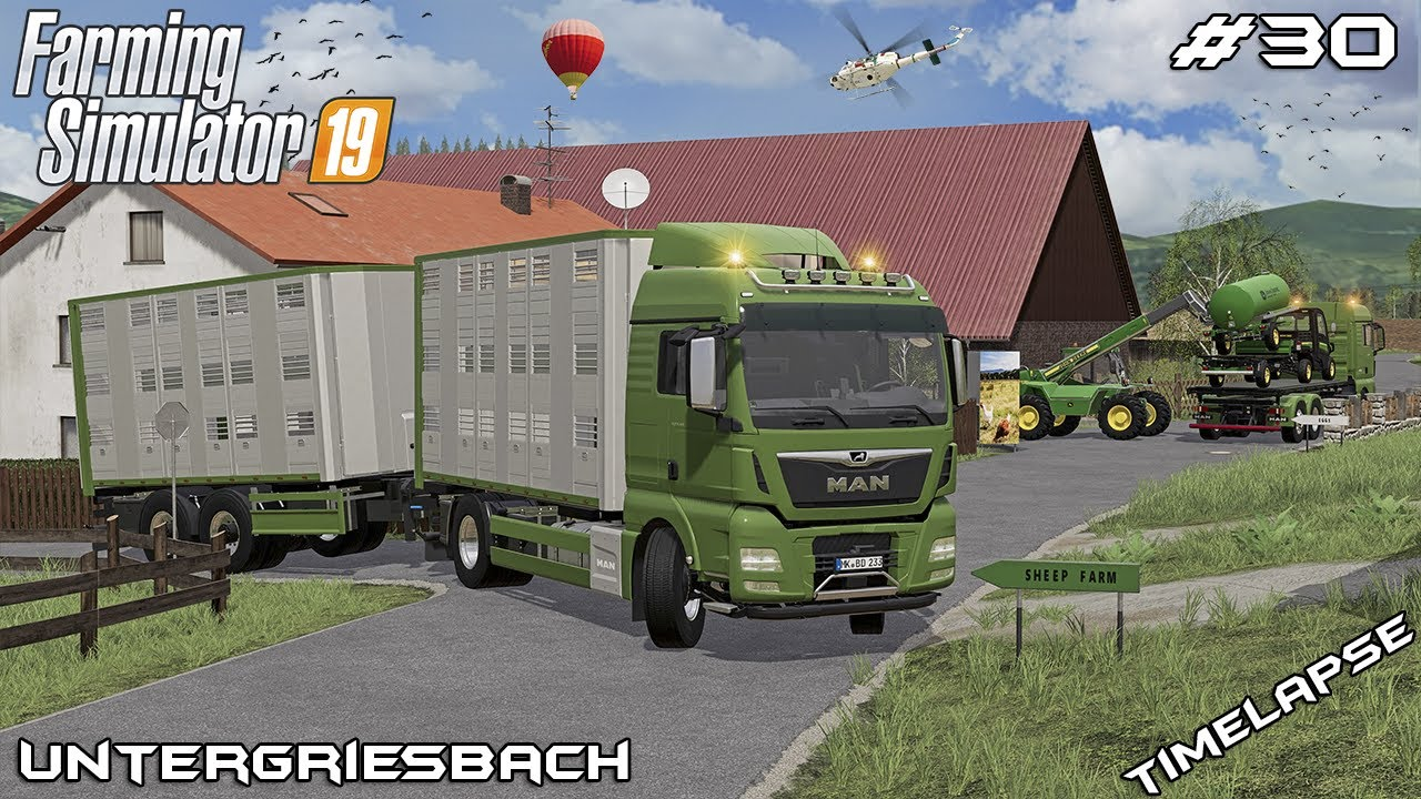 We got a SHEEP and new JOHN DEER TOY | Animals on Untergriesbach | Farming Simulator 19 | Episode 30