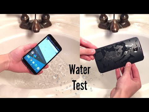 Nexus 6 Water Test - Is it Water Resistant?